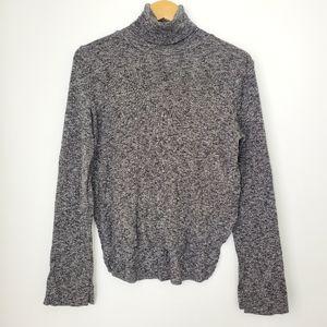 Zara Knit Gray sweater turtleneck M